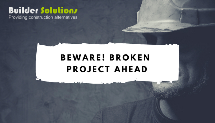 Beware! Broken project ahead
